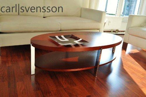 Carl Svensson DESIGN COUCHTISCH O-111 Kirschbaum oval NEU Tisch
