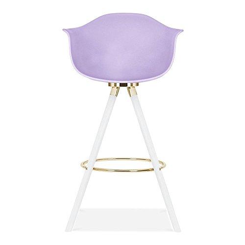 Cult Design Moda Barhocker mit Armlehne CD2 - Lavendel