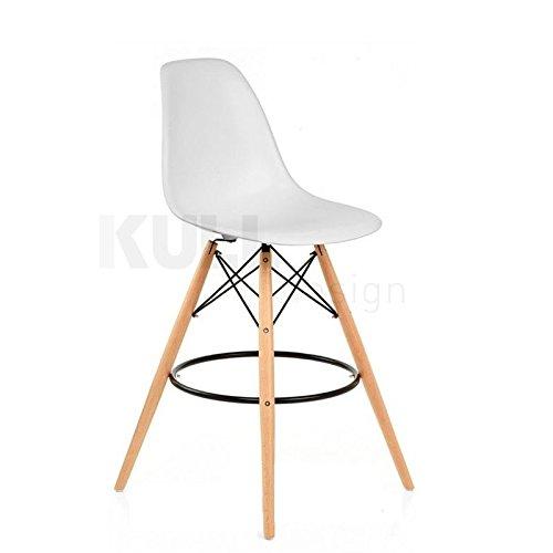 kulldesign. COM Hocker Paris für Küche. Inspiriert durch das Design der Stuhl DSW Eames