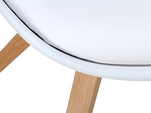 Massivum Retro Esszimmer Stuhl California 49x83x53 Aus Holz Natur