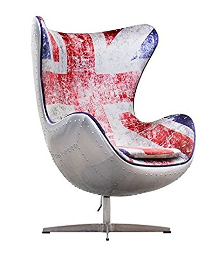 Union Jack Aviator AJ Egg Chair