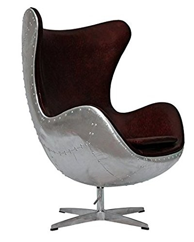 AVIATOR AJ Egg Chair schwarz