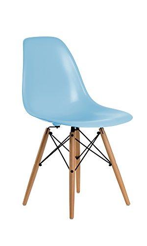 Aryana Home Kinderstuhl im Eames-Design, Nachbildung, Blau