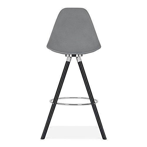Cult Design Moda Barhocker mit Rückenlehne CD2 - Grau