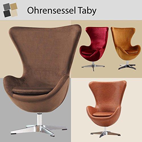 Feelcomfort Ohrensessel Taby Egg Chair Retro