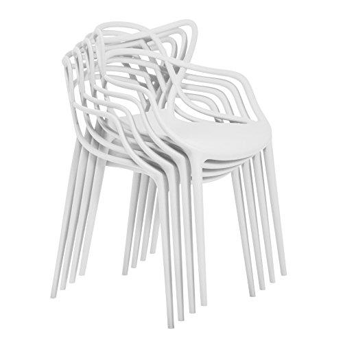 Kartell Masters Stuhl, Kunststoff, Gelb