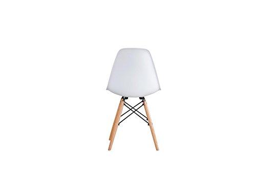 MCC Retro Design Stühle LIA im 4er Set, Eiffelturm inspirierter Style für Küche, Büro, Lounge, Konferenzzimmer etc., 6 Farben, KULT