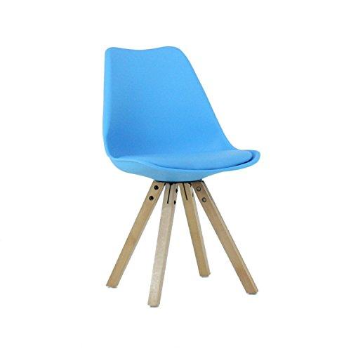 P & N Homewares® Sofia Eiffelturm inspiriert Stuhl aus Kunststoff Retro Weiß Schwarz Grau Rot Gelb Pink Grün Blau