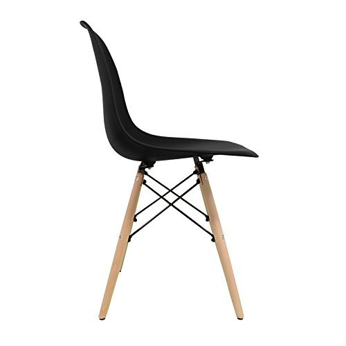 Stuhl Bettbezug (Pack 4)-Tower One-Stuhl Nordic Skandinavien inspiriert Stuhl Eames DSW Stuhl (wählen Sie Ihre Farbe)