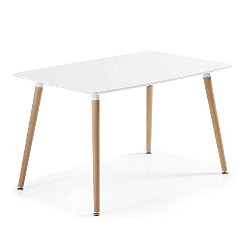 Tisch Kiel 120lackiert weiß