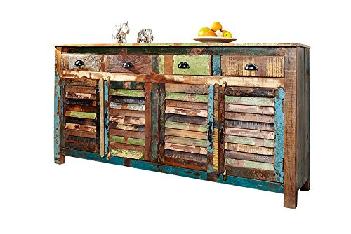 Invicta Interior 19905 Sideboard Jakarta 180cm, aus Recyclingholz