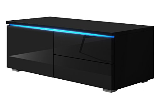TV Schrank Lowboard Sideboard Tisch Möbel Board Luv Single mit LED