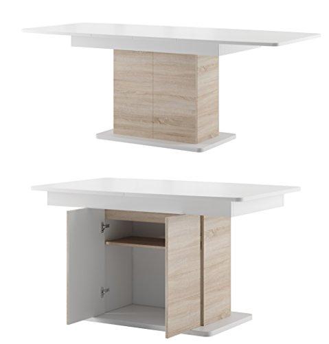 Tisch STAR Esstisch Säulentisch ausziehbar Hochganz
